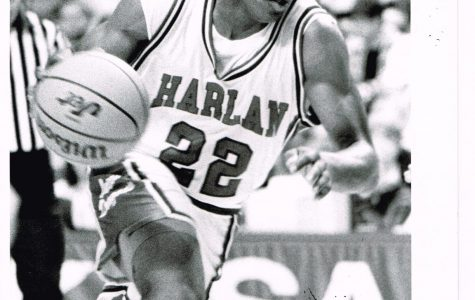 Harlan's Charles Thomas is first in county history in points scored and was Mr. Basketball in 1995.