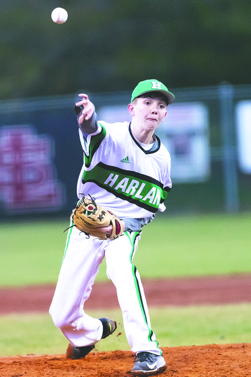 Evan+Browning+delivered+a+pitch+in+a+game+last+season.+Browning+is+expected+to+start+at+shortstop+and+will+also+see+action+on+the+mound.