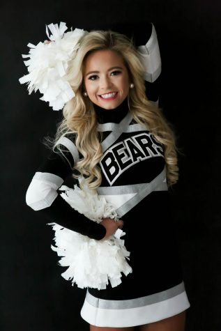 Harlan County HIgh School senior Ally Alred has been selected to the cheerleading squad at Morehead State University.