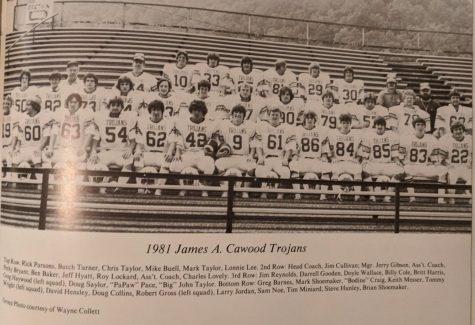 JACHS 1981 football