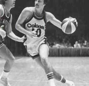 Louier Dampier was a standout for the University of Kentucky before going on to play for the Kentucky Colonels.