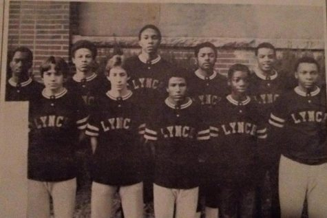 The 1981 Lynch High School basketball team is pictured. It was the last team in school history before merger with Cumberland High School.