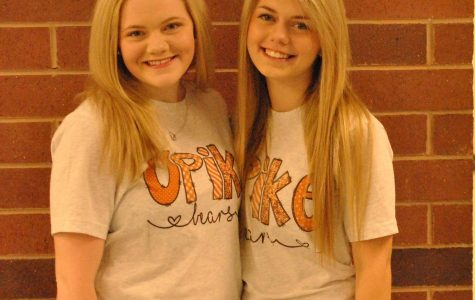 Shalora Neely and Claudia Hatfield, both seniors at Harlan County High School, made the dance team at the University of Pikeville after four seasons on the HCHS squad.