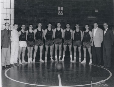 The Black Star district championship team of 1960 is pictured. The Eagles, led by coach James Burkhart, defeated Benham, Harlan and Cumberland to win their final district title before closing the following year.