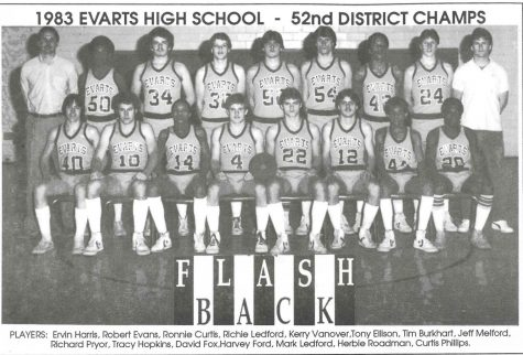 Evarts upset Cumberland and Cawood to win the 1983 52nd District championship. The Wildcats defeated Oneida Baptist in the regional tournament before falling to Middlesboro in the semifinals in the final game that Billy Hicks coached for the Wildcats.