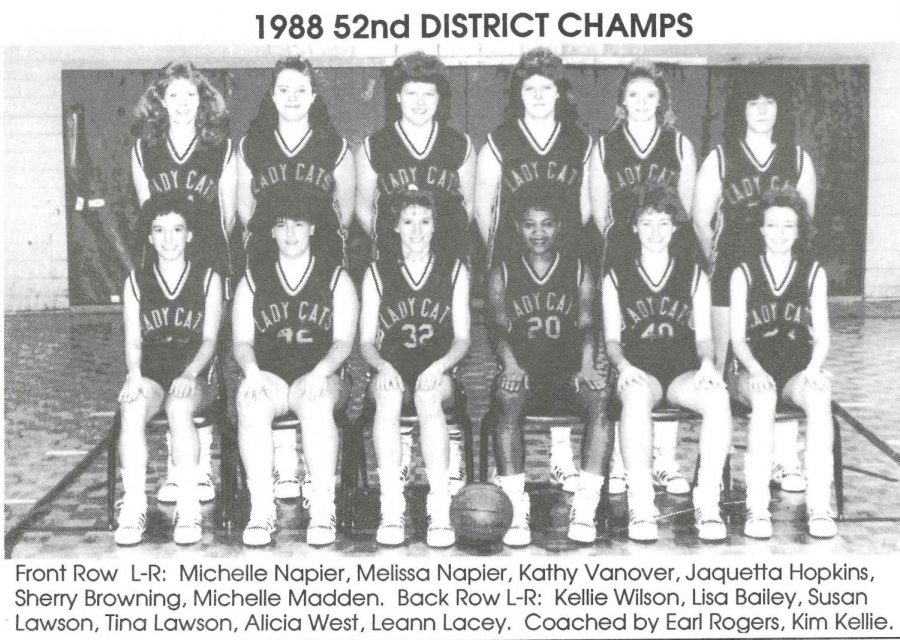 The+Evarts+Lady+Cats+won+the+52nd+DIstrict+Tournament+title+in+1988.