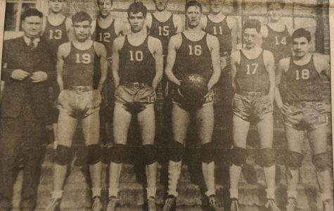 Harlan captured the state basketball championship in 1944.