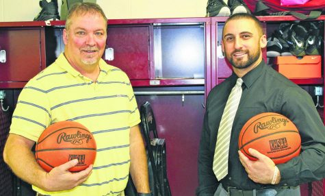 Bill Scott and Eddie Creech led Cumberland to its only 13th Region Tournament title in 2003. Creech, now the football coach at Harlan County HIgh School, was a standout guard on the 2003 team. Scott coached the Redskins for nine seasons and is now a teacher at HCHS.