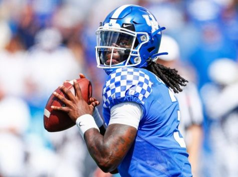 Kentucky quarterback Terry Wilson and the Wildcats will open the season against Eastern Michigan on Sept. 3 at Kroger Field.