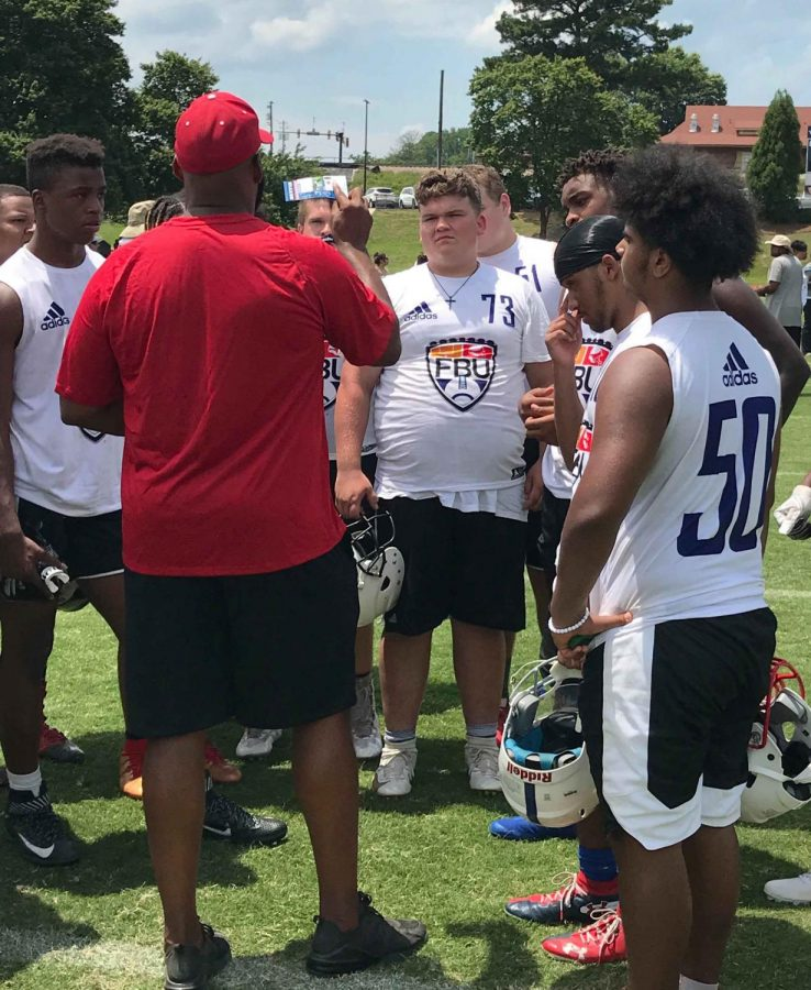 Harlan+County+freshman+lineman+Will+Cassim+%2873%29+played+against+some+of+the+nation%E2%80%99s+top+young+players+over+the+weekend+in+the+FBU+Camp+in+Atlanta.+The+event+is+designed+to+highlight+the+best+middle+school+and+high+school+athletes+in+an+intense+position-specific+test+of+technical+skill+and+ability.+Cassim+was+invited+to+play+in+the+Top+Gun+Showcase+in+Florida.