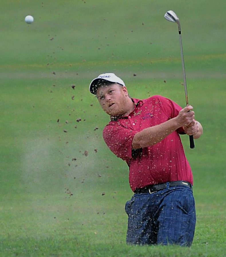 Zack Fowler, pictured in action in the 2017 Harlan Invitational, was the winner on Sunday in the Lynch Invitational Tournament.