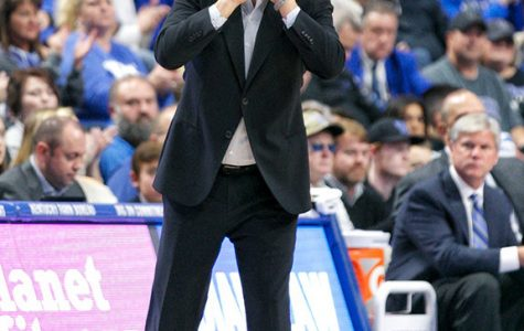 Coach John Calipari shouted instruction in Kentucky's win over UAB.