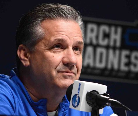 Kentucky coach John Calipari will meet his team in-person on Monday.