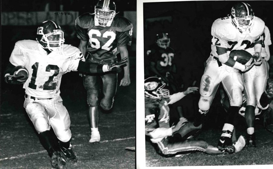 Anthony+Ravizee+%28left%29+and+Charles+Tinsley+were+standout+running+backs+at+Cumberland+High+School+in+the+early+1990s.+Ravizee+went+on+to+play+at+Morehead+and+Tinsley+played+at+Eastern+Kentucky+University.