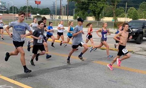 Runners competed in the Red, White and Zoom 5k on Saturday morning in downtown Harlan