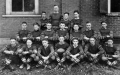 The 1920 Harlan High School football team is pictured. It was the first team in school history.
