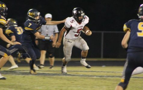 Harlan County senior Hunter Blevins, pictured in action against Knox Central, is a three-year starter on defense for the Black Bears.