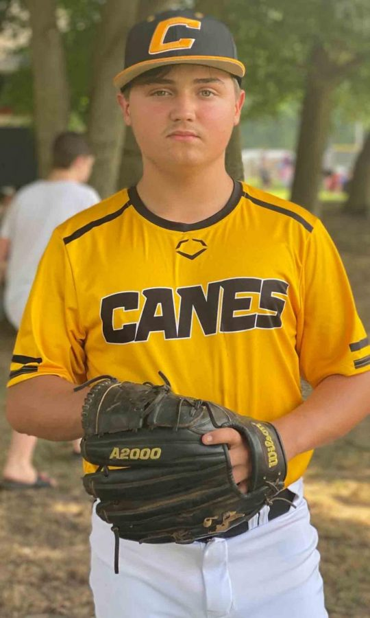 Harlan County freshman Shawn Carroll is a member of the Canes Kentucky 14-and-under team this summer.