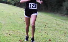 Harlan County eighth-grader Peyton Lunsford, pictured in action earlier this season, placed 42nd out of 215 runners in the Class 2A state meet.