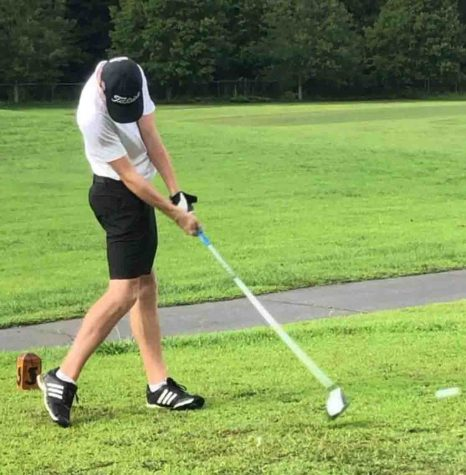 Tyler Harris led Middlesboro to a match victory Tuesday at the Wasioto Winds Golf Course.