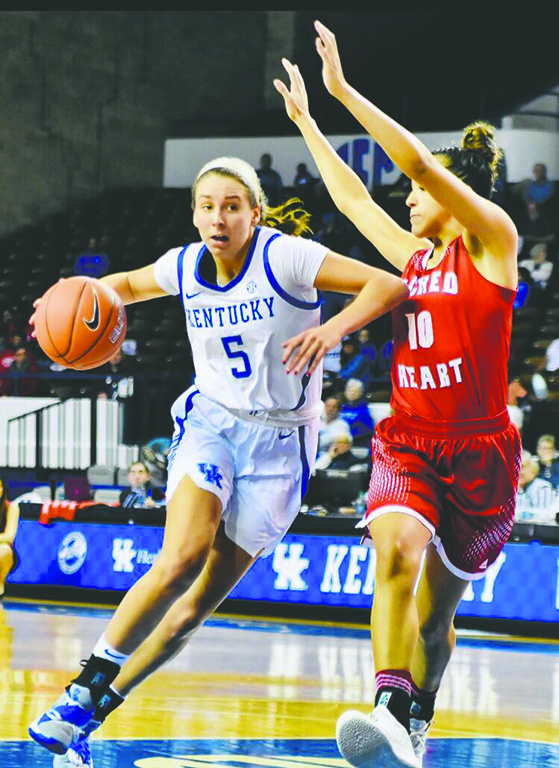 Former+Harlan+County+High+School+star+Blair+Green+is+entering+her+junior+season+at+the+University+of+Kentucky.