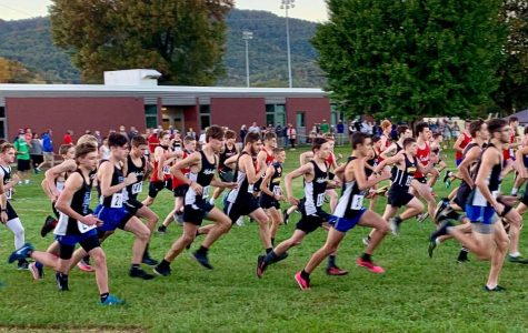 Runners left the starting line on Tuesday at the Middlesboro All-Comers race.