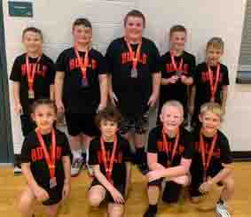The Bulls, a local AAU team, placed second on Saturday in a tournament at Bristol.