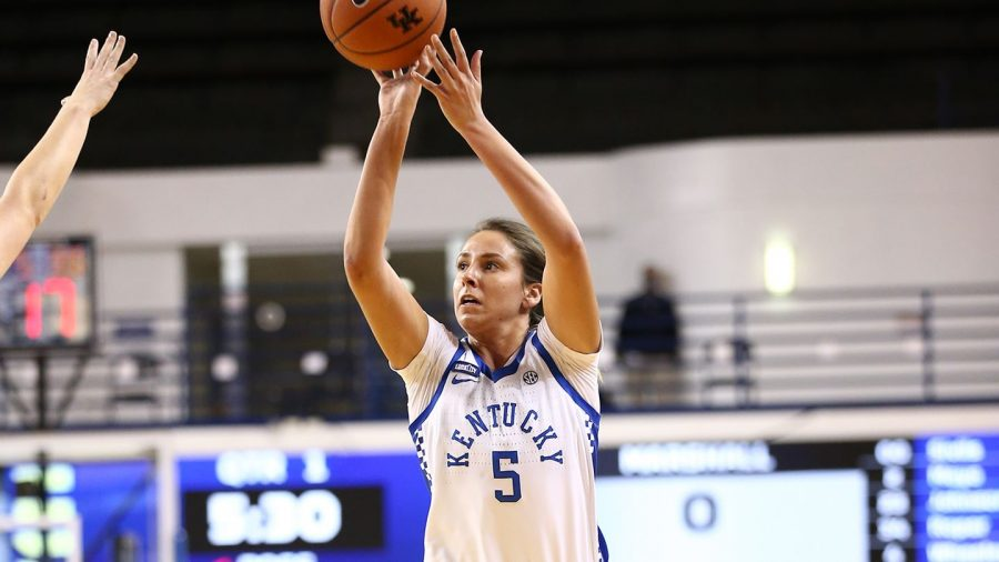 Former Harlan County star Blair Green scored 22 points in Kentucky's win over Vanderbilt.