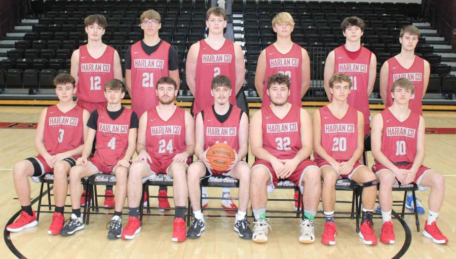 Harlan County  team members include, from left, front row: Maddox Huff, Daniel Carmical, Josh Turner, Tyler Cole, James Gray, Jackson Huff and Jonah Swanner; back row: Caleb Johnson, Jared Rhymer, Trent Noah, Ethan Rhymer, Tristan Cooper and Samuel Henson; not pictured: Jeremiah Clem.