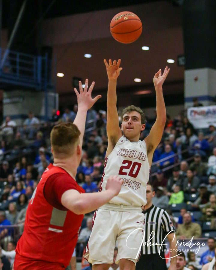 Junior guard Jackson Huff is one of three returning starters for Harlan County this season.