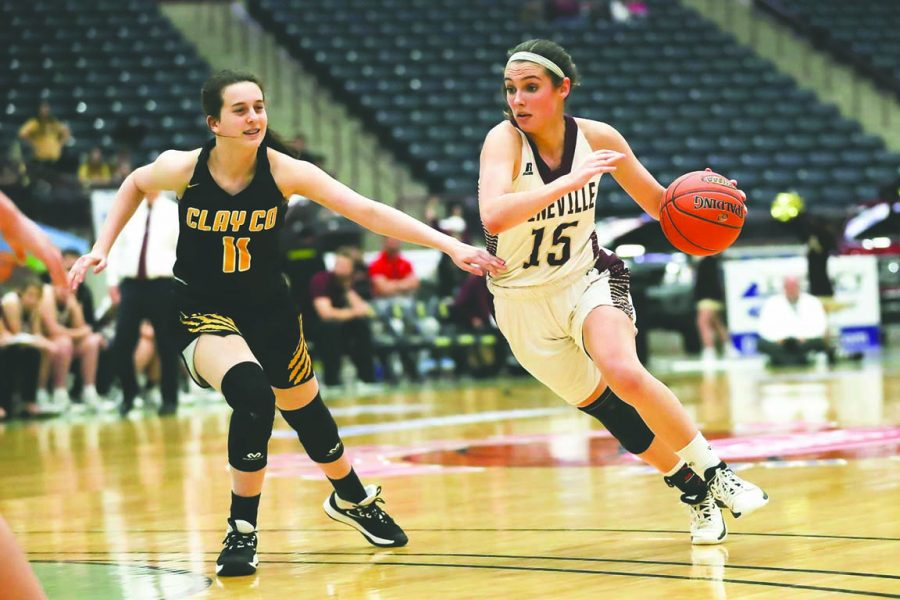Pineville senior guard Whitney Caldwell is one of the 13th Region's top players and a big reason why the Lady Lions are picked to win the regional All