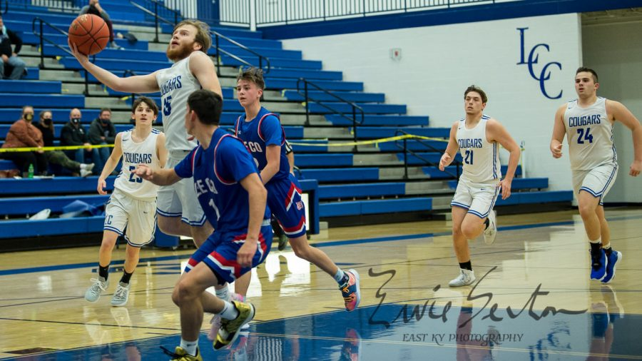 Isaiah+Adams%2C+pictured+in+action+earlier+this+season%2C+scored+10+points+in+Letcher+Central%27s+win+Thursday+over+Leslie+County.