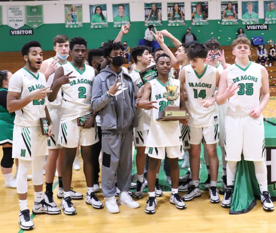 The Harlan Green Dragons captured their second straight 13th Region All