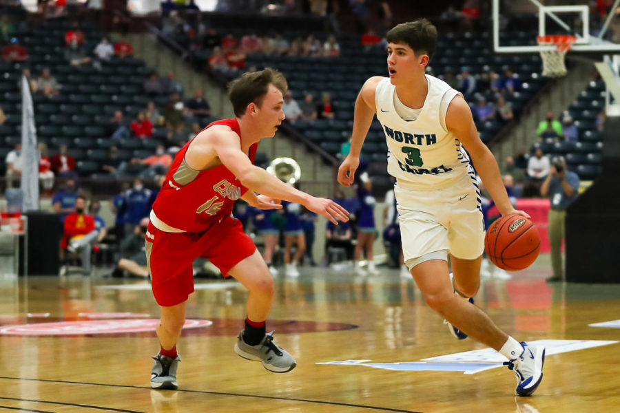 North Laurel guard Reed Sheppard scored 31 points as the Jaguars advanced to the 13th Region Tournament finals with a win over Corbin on Friday.