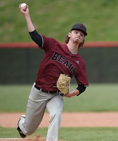 Brayden Blakley pitched four shutout innings Monday in Harlan County