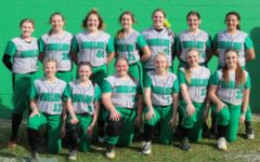 Team members include, from left, front row: Mallory McNiel, Mckenzie Snelling, Emma Eversole, Ally Combs, Hayley Fuson and Lacie Garland; back row: Addison Jackson, Annie Hoskins, Carley Jo Kennedy, Faith Hoskins, Abbi Fields, Kendyll Blanton and Kierra Hardin.