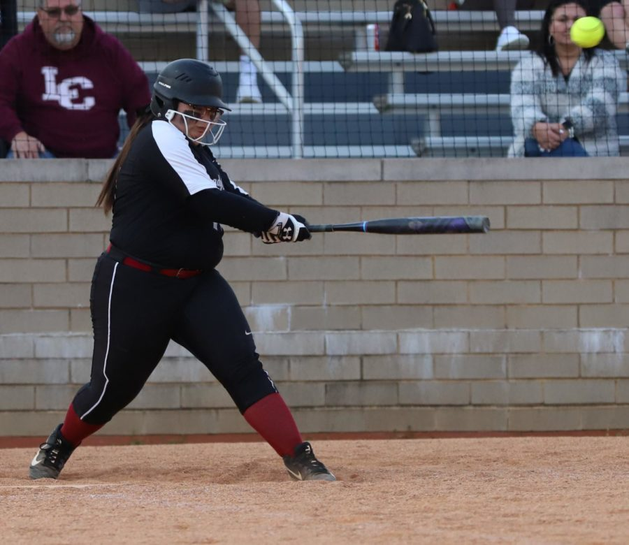 Senior catcher Brandy Adams had four hits Tuesday, including the game-winner in the seventh inning, as the Lady Bears rallied for a 10-9 win.
