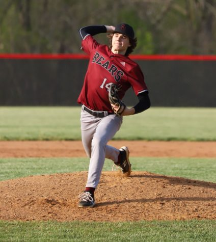 Tristan Cooper pitched five innings Monday as Harlan County defeated visiting Bell County 15-5.