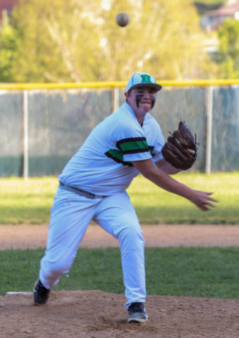 Jared Moore pitched a four-hitter Tuesday as Harlan won 14-0 at Bell County.
