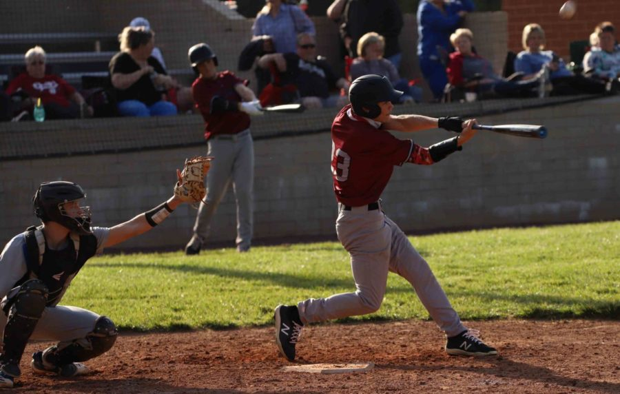 Jonah Swanner connected on a home run Monday as Harlan County rallied for a 15-5 win over visiting Bell County.