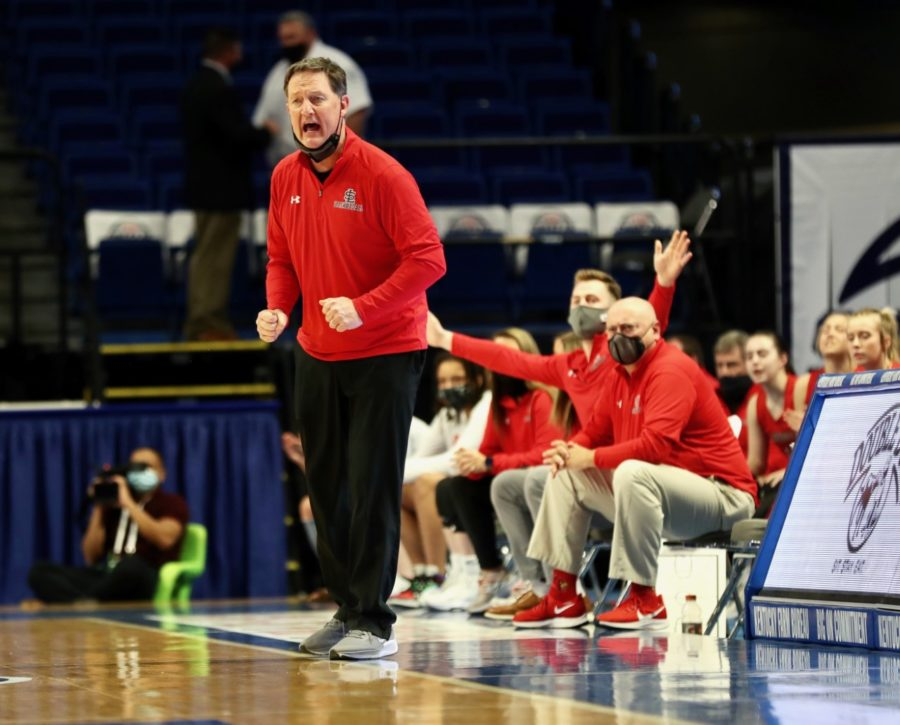 South Laurel coach Chris Souder saw his team finish the 2021 season with a 20-11 record.