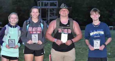 Harlan County High School was represented on the All-Southeastern Kentucky Conference Team by Peyton Lunsford Kassy Owens, Hunter Blevins and Caleb Rigney.