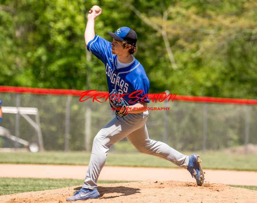 ES - Canaan Cuniff pitching vs HCHS