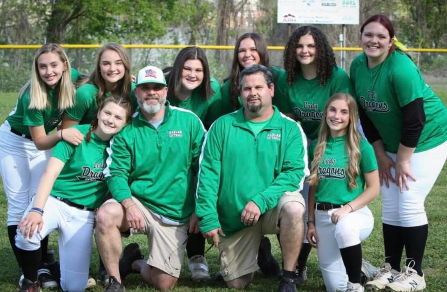 The+Harlan+Lady+Dragons+posted+a+15-5+record+in+middle+school+softball+action+this+season%2C+advancing+to+the+regional+semifinals+before+falling+to+Corbin.