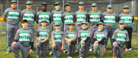 Harlan finished the middle school baseball season with a 6-7 record.