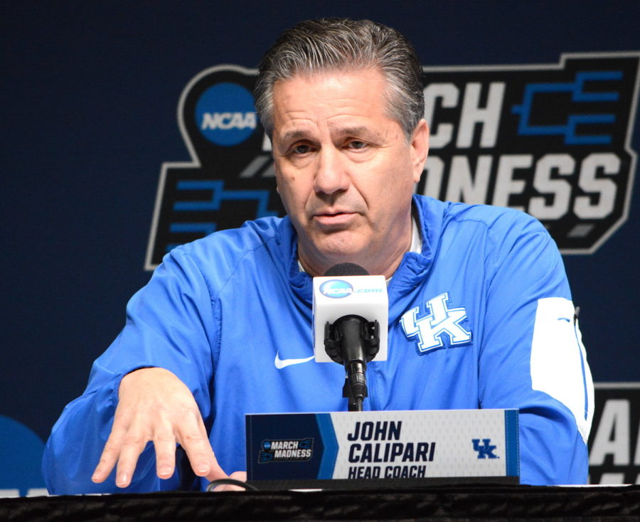 Kentucky coach John Calipari has stocked next year's roster with transfers but doesn't think that will be a trend for his team in the future.