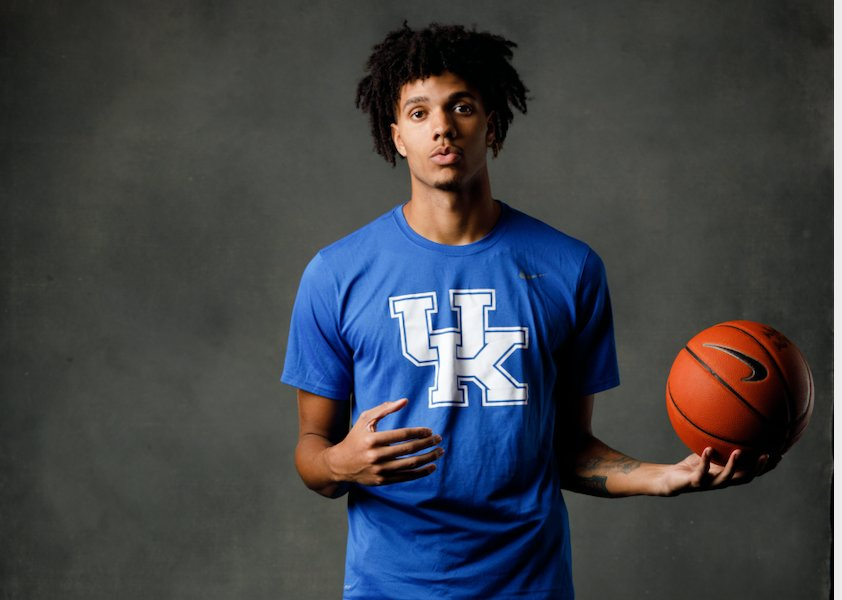 Kentucky+redshirt+freshman+Dontaie+Allen+is+determined+to+do+great+things+with+the+Wildcats.