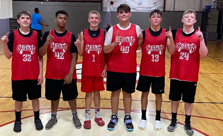 The Harlan County Grizzlies won the Bristol Summer Bash on Saturday. Team members, from left, include Brody Napier, Shemar Carr, Terry Michael Delaney, Jaycee Carter, Hunter Napier and Blake Hensley.