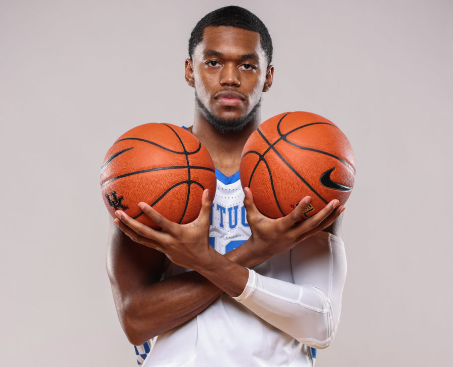 Keion Brooks is looking forward to his third season with the Wildcats and will be counted on to be a leader this year.