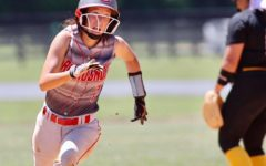 Corbin catcher Kaylee Morales headed for third base with a triple during Saturday's 13th Region Tournament win over Middlesboro.